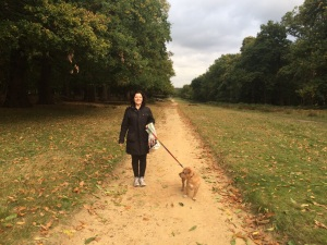 Buster - loving Richmond Park